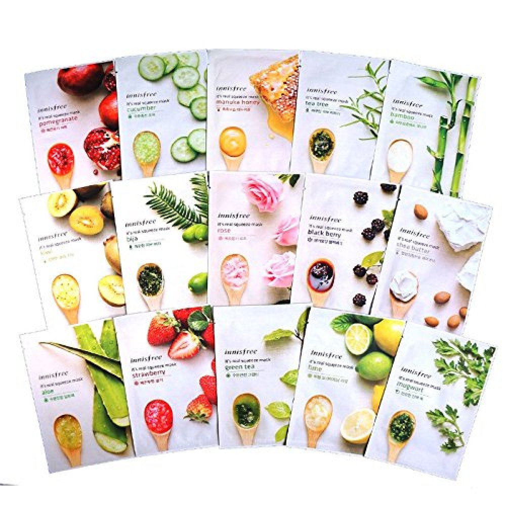 Innisfree Its Real Squeeze Mask Sheet 20ml Lime